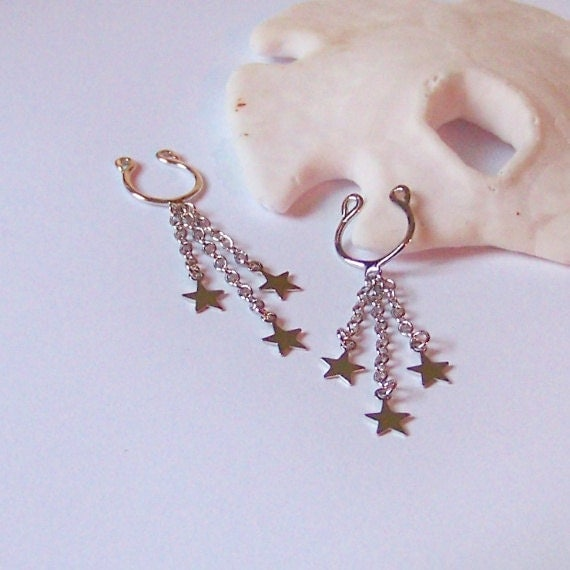 Nipple Rings Set Of 2 Non Pierced Nipple Jewelry Body