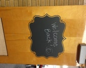 BIG Chalkboard Label - 22w x 18t