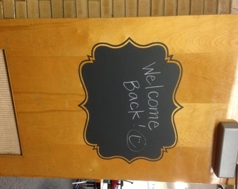 BIG Chalkboard Label - 22w x 18t