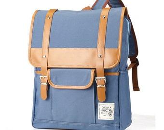 Simple light Backpack (Sky Blue)