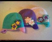Custom Beautiful Flower Hats