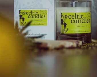 Lemongrass Essential Oil Candle - Large