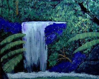 Waterfalls Deep in the Woods