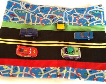 Matchbox Car Caddy Roll Up Play Mat