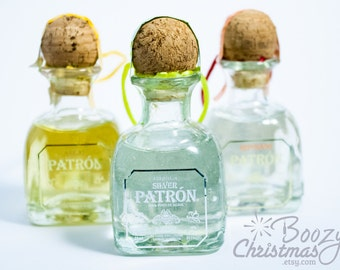 Patron Ornament Value Pack-- All Three Patron Christmas Tree Ornaments