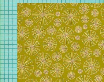 Scrapbook Paper 2 Sheets  American Crafts 12x12  Double Sided Studio Calico - Yearbook Collection - Superlatives