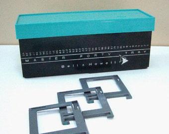 Mid Century Atomic Slide Box Bell & Howell