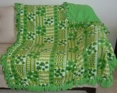 Lucky Charm No Sew Fleece Blanket (2 yards)