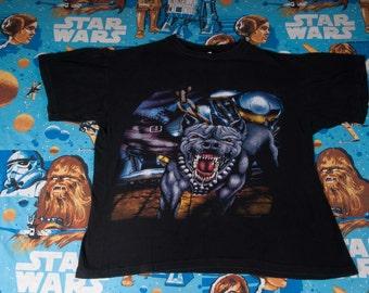 ANGRY Dog BIKER T-Shirt