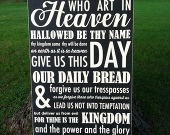24x44 The Lord's Prayer