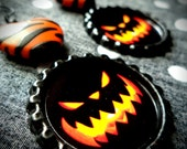 Evil Pumpkin earrings