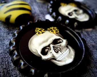 Deadly Sunshine earrings