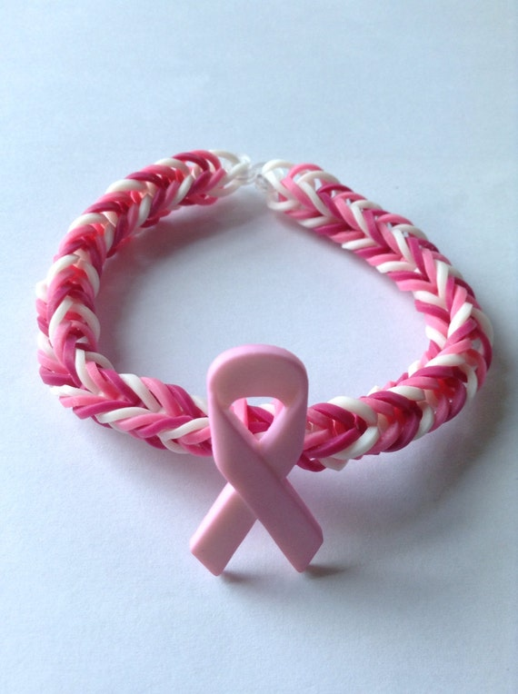 Breast cancer bracelets Etsy