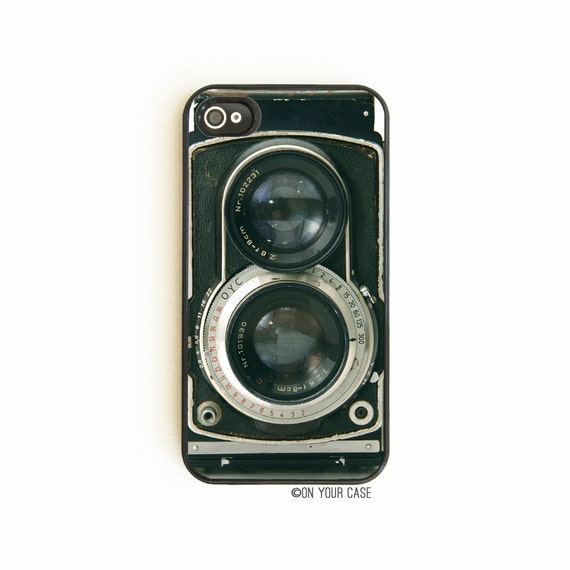 iPhone 4 Case. iPhone 4S Case. Retro Twin Reflex Camera. Phone Case. Phone Cases. iPhone Case. iPhone Cases.