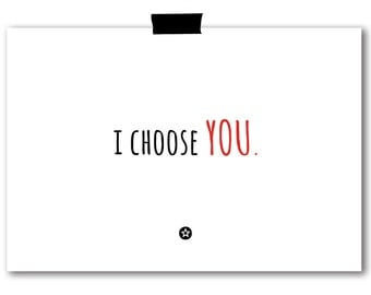 Card I Choose You