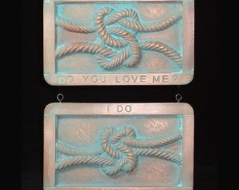 Love Knot copper Limited Edition garden plaque