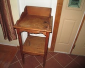 SALE WAS 99.00 NOW 75.00 wooden small vintage table