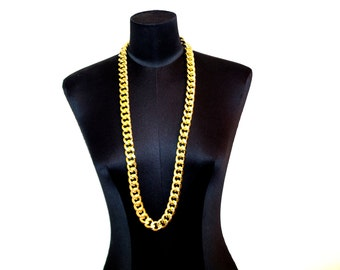 Gold Chain Necklace / Men's Chain