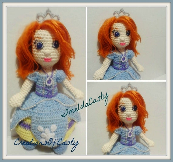 Princess Sofia Amigurumi Doll PDF