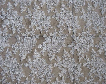 embroidered tulle lace fabric multicolor lace fabric with