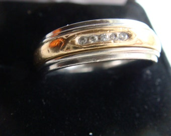 14k Gold with Diamonds