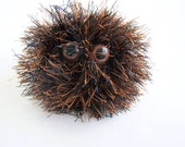 Plush Ball Monster Fuzzy Troubles Pocket Pal - TurkandBean
