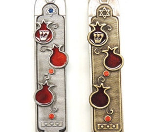 Pomegranate Mezuzah (049-050)