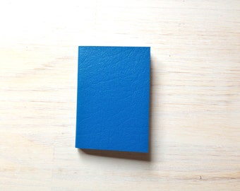 Notebook: Small Blank Journal, Blue, Bright, Journal, Bound, Notebook, Small, Jotter, Mini Journal, Small Notebook, Unique