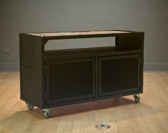 cabinet sideboard stand tv stand credenza industrial reclaim reclaim