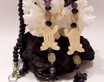 Native American Vintage Fetish Necklace