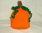 Pumpkin Hat with Leaves and Vines