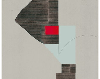 Abstract collage, Abstract composition 91