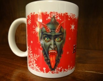 Christmas Krampus 11 oz Mug