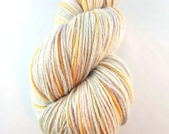 Murphy, light grey sock yarn, sock yarn, pink purple orange, hand dyed sock yarn, merino silk yarn