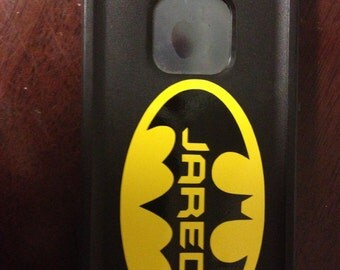 Small Personalized Batman Sticker Decal