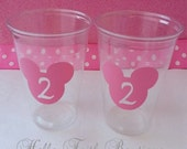 Set of 24 - Mickey Mouse Party Cups, Mickey Mouse Party Cups, Minnie Mouse Birthday, Minnie Party, Mickey Mouse Party, Disney Party