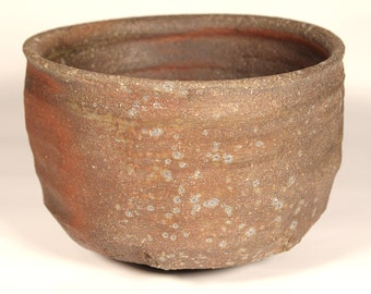 Once-fired Bizen-style Chawan (Tea Bowl) - 5 Day Anagama 2012