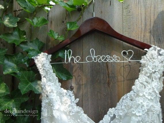 SALE Wedding Dress Hanger, Bride Hanger, Last Name Hanger, Mrs Hanger, Wedding Hanger, Personalized Hanger, Gift