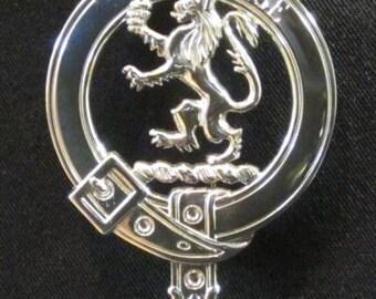 Cumming Scottish Clan Crest Badge