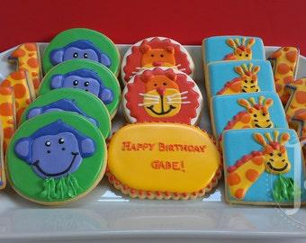 Jungle Animal Cookie Assortment