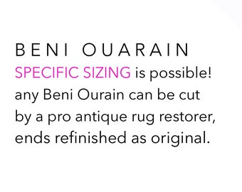 SPECIFIC SIZING on Beni Ourain, Moroccan Beni Ourain Rug. Oh, you lovely Beni Ourain.