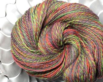 Handspun Yarn - Morning Walk - Falkland Wool, DK Weight, 323 Yards