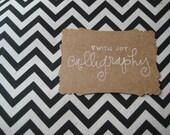 RESERVED for Beth {Utah Blue Bird} - Custom Wedding Sign