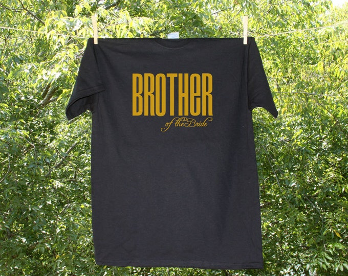 Brother of the Bride Classic Droid Wedding Party Shirt