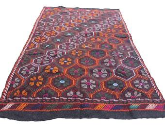 Vintage rug shop etsy for International home decor rugs