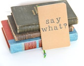 Ready to Ship Mini Notebook Pocket Journal Travelers Notebook