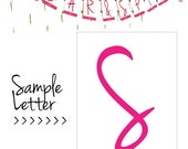 Sugar & Spice, Pink And Brown Baby Shower Banner