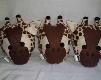 Sweet Giraffe Plush Pillow