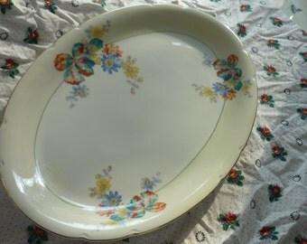 Beautiful Victoria China Czechoslavakia Platter