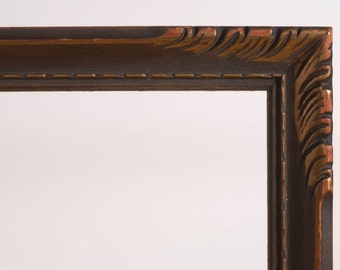 Antique wood frame Art Deco Nouveau